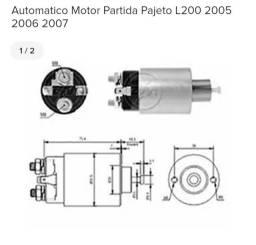 Automatico Motor Partida Pajeto L200 2005 2006 2007<br><br>