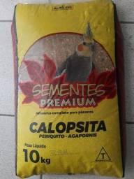 Título do anúncio: Mistura para calopsita ou periquito ou agapornias com 10kg