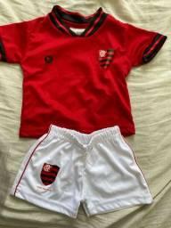 Terninho baby Flamengo