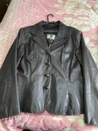 Jaquetas de couro feminina