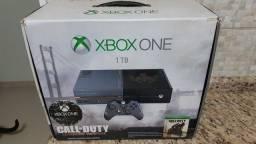 Título do anúncio: Xbox one 1tb Cal of Duty