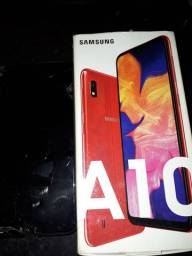 A10 Samsung em tela quebrada mais funcionando