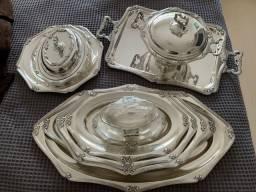Título do anúncio: Baixela de prata Fracalanza