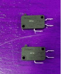 Kit 100 Chaves Micro Switch Microondas 16a 250v 3 Terminais