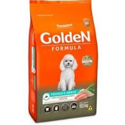 15kg Ração Golden Cães Adultos Raças Pequenas - Sabor Frango e Arroz