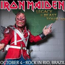 Título do anúncio: Iron Maiden - Live in Rock in Rio 2019 CD