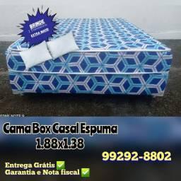 Título do anúncio: * cama box epsuma * à pronta entrega !!