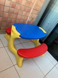 Título do anúncio: Mesa infantil Bandeirante.