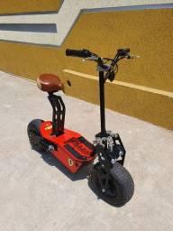 Título do anúncio: Scooter 100% ELÉTRICA- 1.600w impecável!