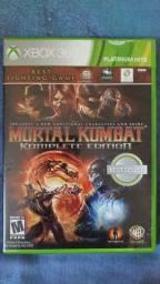 Título do anúncio: Jogo Xbox 360 Mortal Kombat (Komplet edition) original