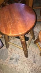 Banco de madeira 50 cm