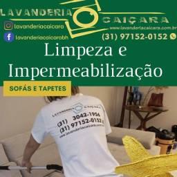 Título do anúncio: Limpeza e impermeabilização de sofá, tapetes e cortinas