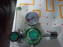 Título do anúncio: Regulador/manometro para oxigenio