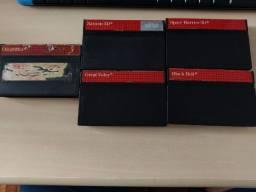 Lote 5 jogos para Master System