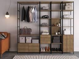 Pronta Entrega: Módulos para composição de Closets, Offices, Lojas, Estar...