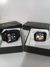 X7 Smartwatch Faz e Recebe ligação ler notificações de Celular