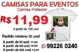 Título do anúncio: Camisa Personalizada para eventos em geral