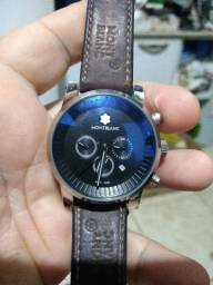 Título do anúncio: Relógio Mont Blanc usado