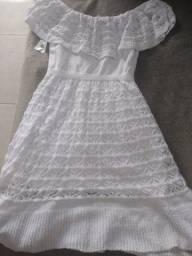 Vestido crochê R$59,90