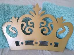 Coroa decorativa MDF