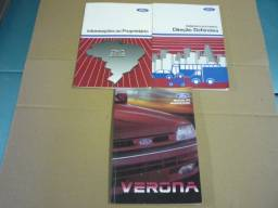 Manual Ford Verona 1992/1993 Original Ford Ap 1.6 e 1.8 Glx