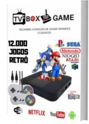 Jogo TV Box Nostalgia 12 Mil Jogos