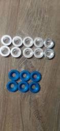 Arruelas de placa e anilhas de parachoque