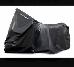 Capa Cobrir Moto Impermeável Forrada Anti Risco Tamanho: G ( Usada)