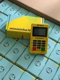Maquininha de cartão Minizinha NFC