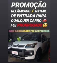 Topa? R$1MIL DE ENTRADA (CITROEN AIRCROSS 1.6 2014)