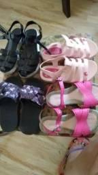 Lote de calçados infantil Tam 28