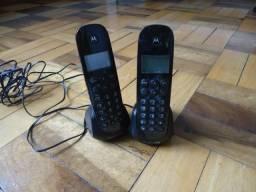 Telefone sem fio motorola - com ramal