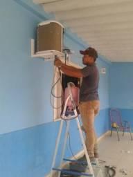 Instalação e Manutenção de Ar Condicionado Split e Janela