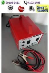 Carregador de bateria carro moto barco 300 amperes - entrega grátis