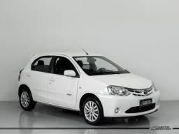 Toyota ETIOS XLS 1.5 Flex 16V 5p Mec. - Branco - 2013 - 2013