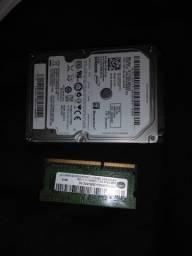 HD 750GB Samsung Memória 4GB DDR3