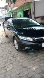 Honda Civic 2014 lxr completo venda ou troca 55,500 reais - 2014