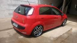 Vendo Fiat Punto completao d tudo com suspensão a rosca aro 18 pneu zerados so pega e roda - 2014