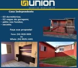 Oferta Imóveis Union!!! Casa no bairro Cidade Nova com 100 m² construídos!!!