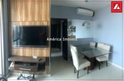 Lindo apto mobiliado no Jardim das Américas - 3 quartos, andar alto e 02 vagas