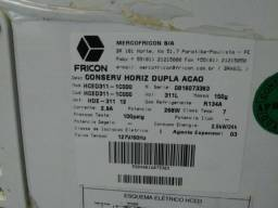 Freezer horizontal fricon 311L