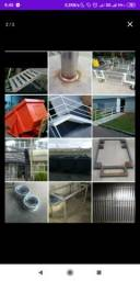 Calhas e rufos metalúrgica em geral