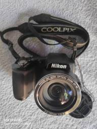 "Câmera Nikon Coolpix L840 - 16.0 MP, LCD 3"" | Ótimo Estado"