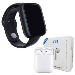 Smartwatch A1 + fone i12 Bluetooth