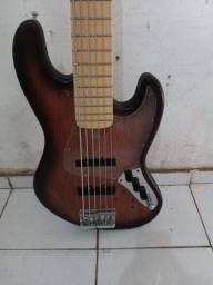 Jazz Bass 6 cordas Hurricane, TB TECH BRAVO