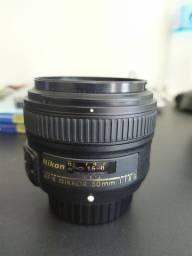 Lente Nikon 50mm f/1.8G AF-S Nikkor