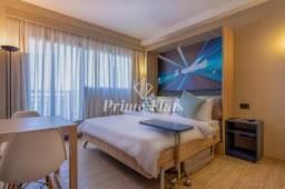 Flat disponível para venda no Aparthotel Adagio Alphaville, com 1 dormitório, 30 m² e 1 va