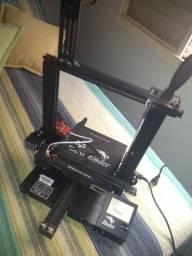 Impressora 3D Ender 3 PRO já com a placa de 32Bits e Extrusor de aluminio