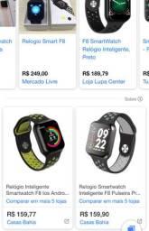Relógio Smartwatch Wearpai F8, Preto