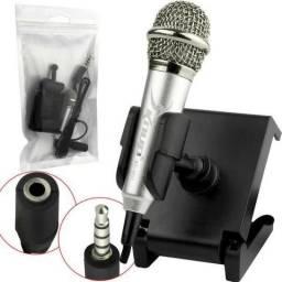 Mini Microfone Para Celular P2 Macho Kp-907